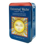 Universal Waite(r) Tarot Deck in a Tin
